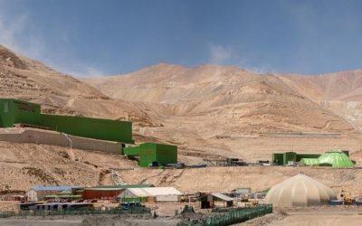 Mines de Caserones, Région de Atacama, Chili