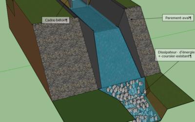 Barrage de Kergonadeac'h – CLEDER (29)
