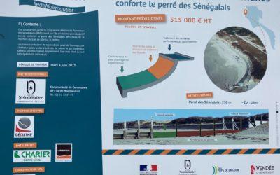 Perré des Sénégalais – Risques littoraux – Noirmoutier (85)