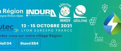Géolithe participe au salon POLLUTEC à Lyon du 12 au 15 Octobre 2021